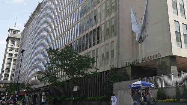 The John Weld Peck Federal Building in Cincinnati, where many of the missteps by IRS workers who targeted conservative groups occurred. (AP)