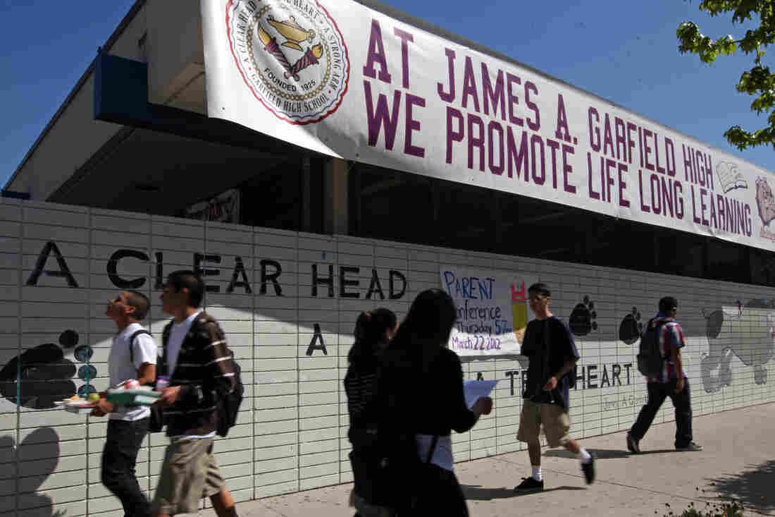 """When Garfield High School in Los Angeles stopped suspending students for """"willful defiance"""" several years ago, it saw suspensions drop from more than 600 to just one. Tuesday, the Los Angeles Unified School District board voted to follow suit in all LA schools."""