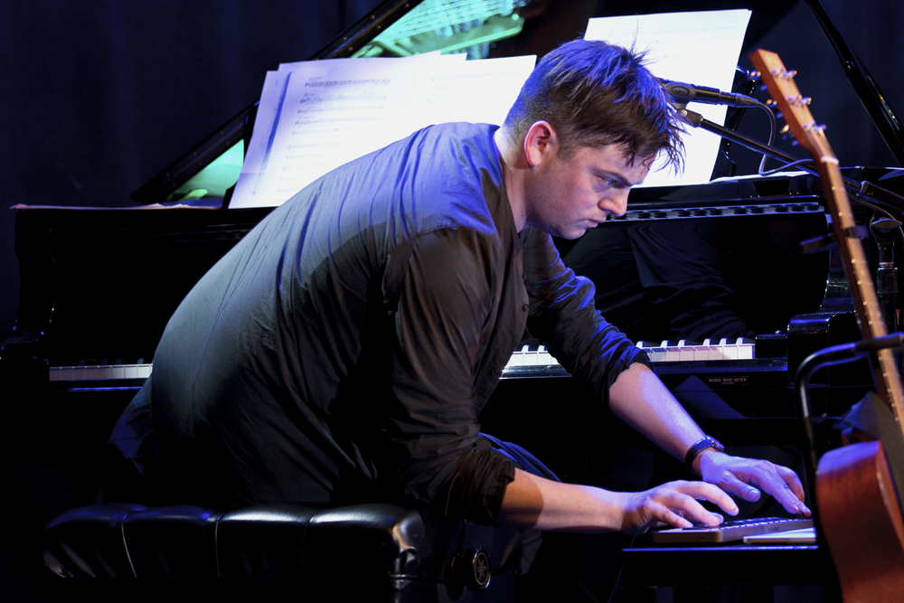 For his piece Skip Town, Muhly processed the piano, giving it a kind of ramshackle feel -- half way between a harpsichord and a honky-tonk piano.