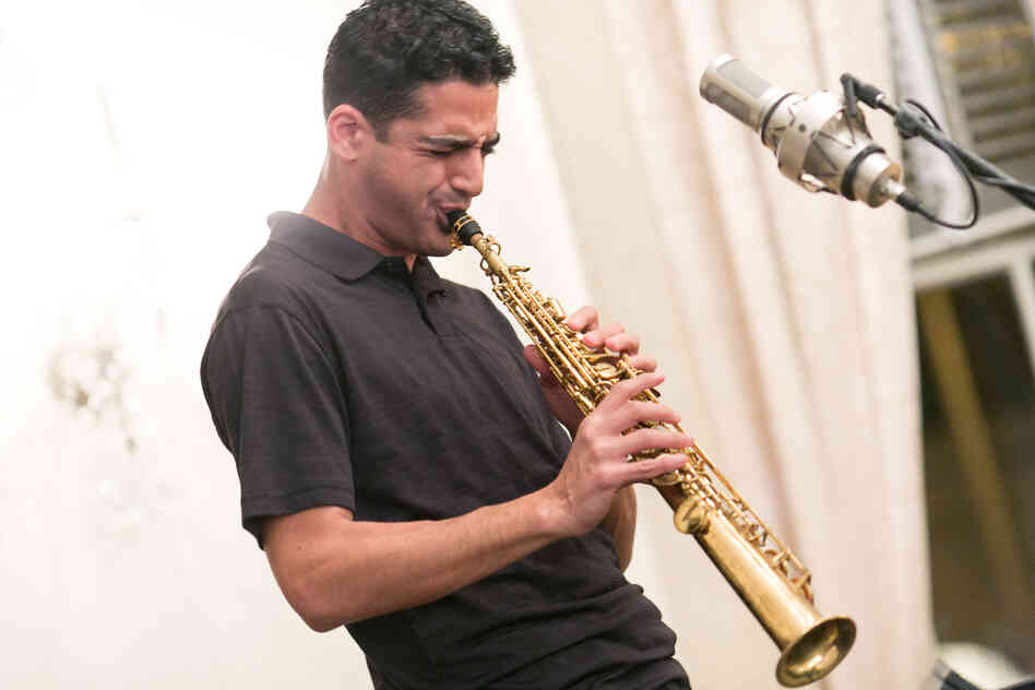 Saxophonist Shlomi Cohen, born in Tel Aviv, came to New York to study jazz.