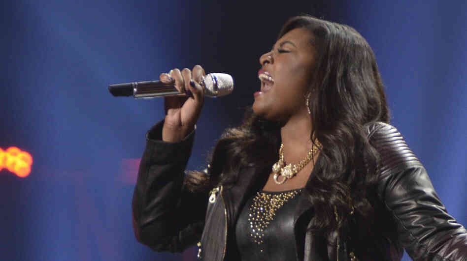 Candice Glover competes Thursday night for the American Idol win.