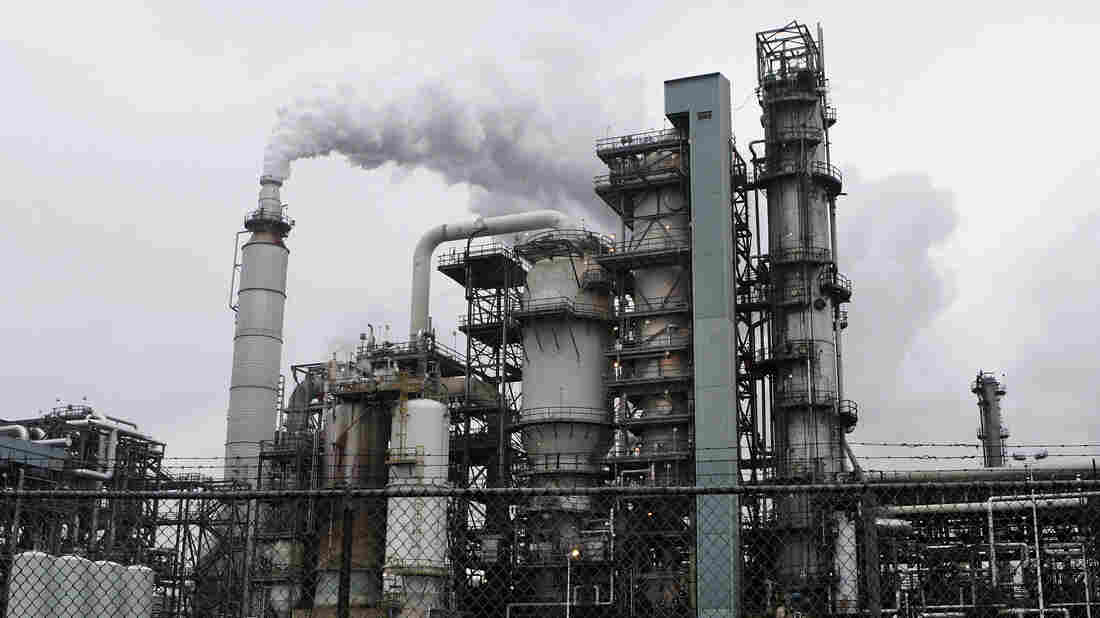 """The PBF Energy refinery in Paulsboro, N.J., uses toxic chemicals such as hydrofluoric acid. Rather than using """"inherently safer"""" design methods, the industry says, other safety measures are taken to prevent accidents like the one in West, Texas."""