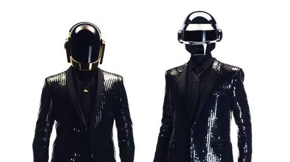 In spite of the robotic persona they've cultivated for years, Thomas Bangalter and Guy-Manuel de Homem-Christo elected to make the latest Daft Punk album in a real studio, with real musicians. (Courtesy of the artist)