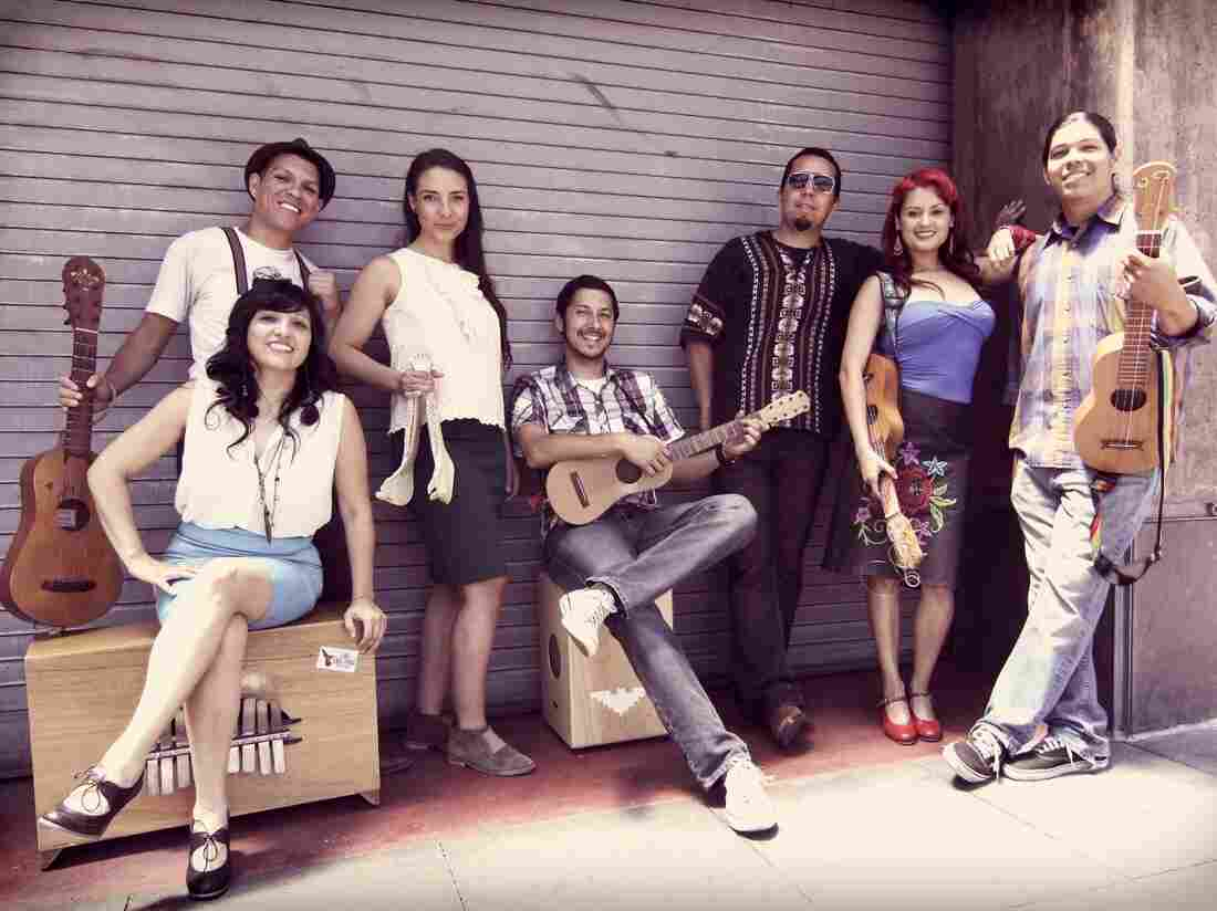 "Los Angeles' Las Cafeteras recorded a version of the classic son jarocho song ""La Bamba."""