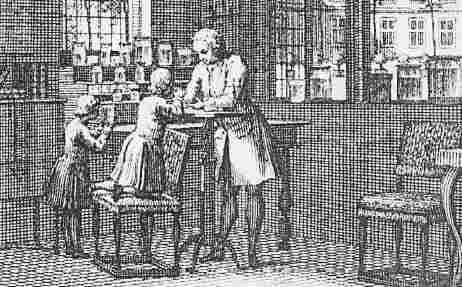 Abraham Trembley's Laboratory Detail