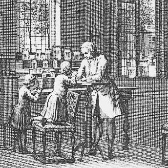 Abraham Trembley's Laboratory