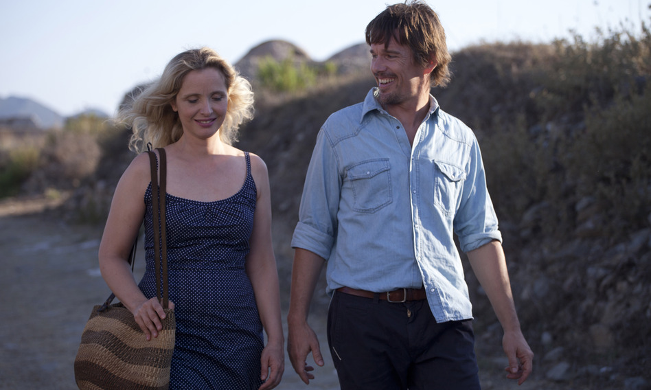 Julie Delpy and Ethan Hawke star in <em>Before Midnight</em>, the third film in a series that follows near 20 years of a relationship.