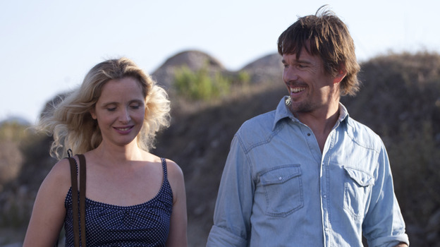 Julie Delpy and Ethan Hawke star in Before Midnight, the third film in a series that follows near 20 years of a relationship. (Courtesy Sony Pictures Classics)