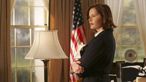 Geena Davis played the president in the 2005 ABC series Commander in