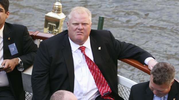 Toronto Mayor Rob Ford in a photograph taken last September. (Associated Press)