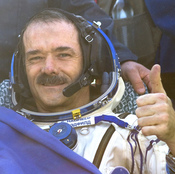 After a half-year mission at the International Space Station, Canadian astronaut Chris Hadfield lands in central Kazakhstan on Tuesday.