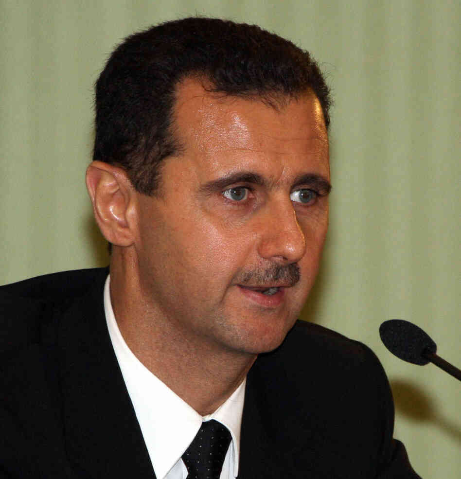 Syrian President Bashar Assad made it clear in an interview with the Argentine newspaper El Clarin that he was not resigning.