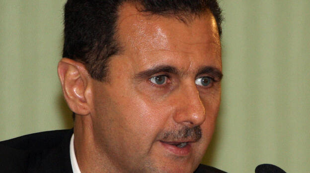 Syrian President Bashar Assad made it clear in an interview with the Argentine newspaper El Clarin that he was not resigning. (AFP/Getty Images)