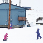 "The 350 residents of Newtok, Alaska, will soon be the country's first ""climate refugees."" The U.S. Army Corps of Engineers says the village is likely to be underwater in just four years."