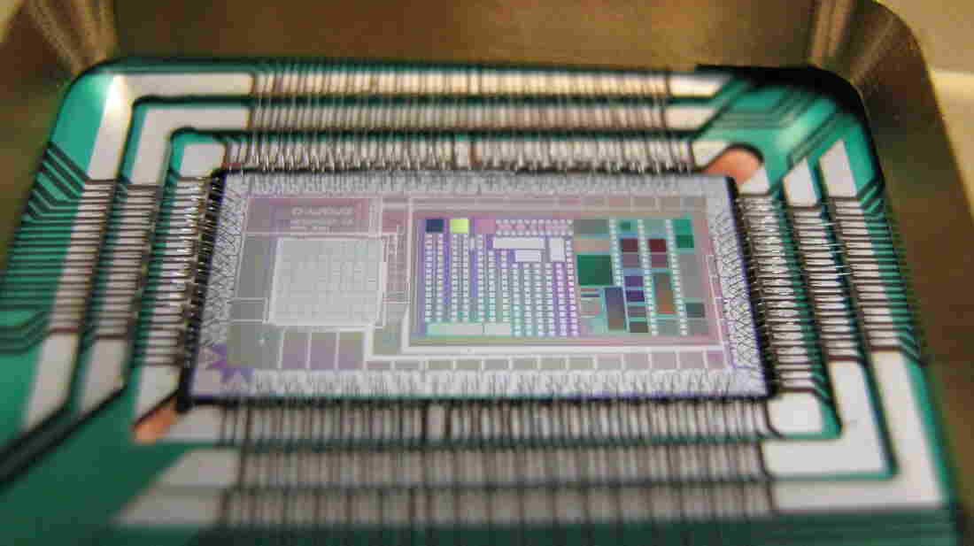 Google and NASA are betting that quantum forces are at work inside D-Wave's 512-bit chip.