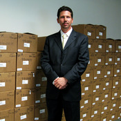 ATF Special Agent Charles Houser runs the National Tracing Center in Martinsburg, W.Va.