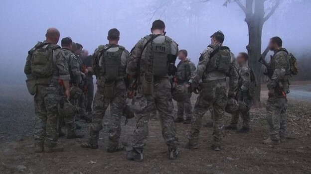 Members of the FBI's Hostage Rescue Team during a training exercise in Quantico, Va. Two FBI agents who were part of the unit died Friday during a training exercise offshore near Virginia Beach, Va. (FBI.gov)