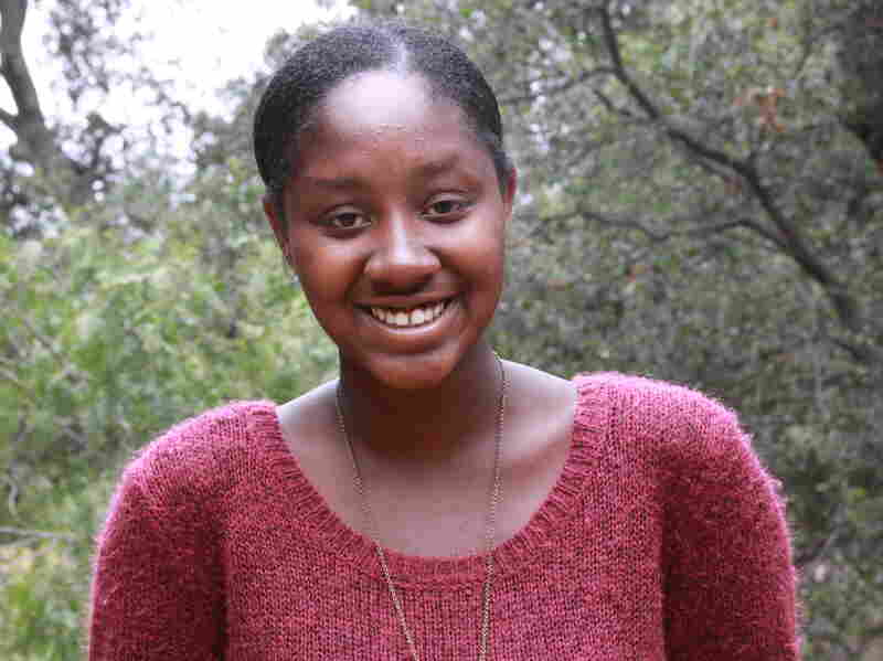 Mahogany Monette is a junior at The Thacher School. She's thinking of applying to Northeastern University in Boston.