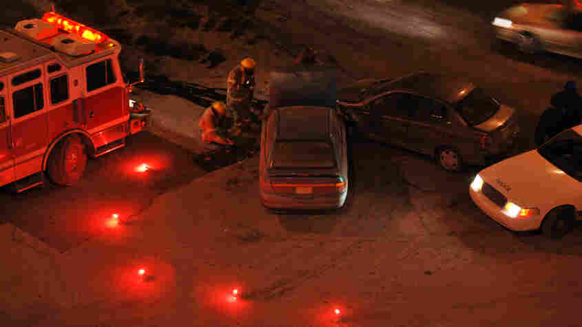 Sleep-deprived teenagers face the greatest risk of accidents while driving at night.