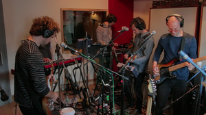"Watch the band perform ""Graceless,"" from <em>Trouble Will Find Me</em>, at Manhattan's Cutting Room Studios."