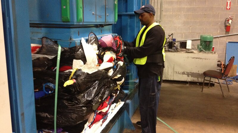 The Global Afterlife Of Your Donated Clothes : Parallels : NPR