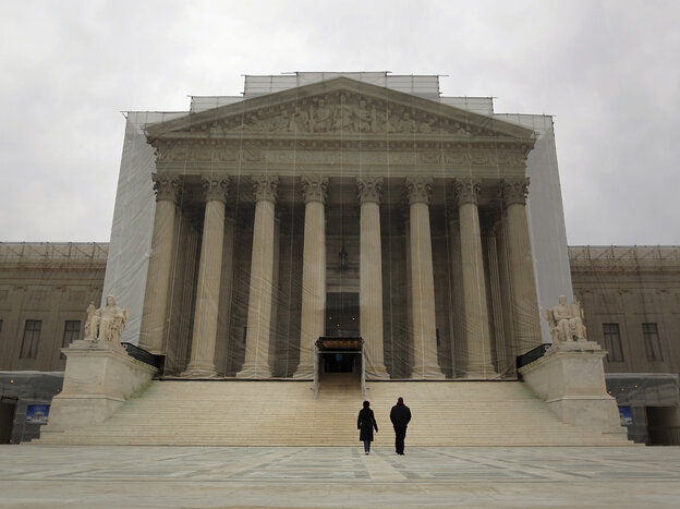 The Supreme Court building in Washington, D.C., earlier this year.