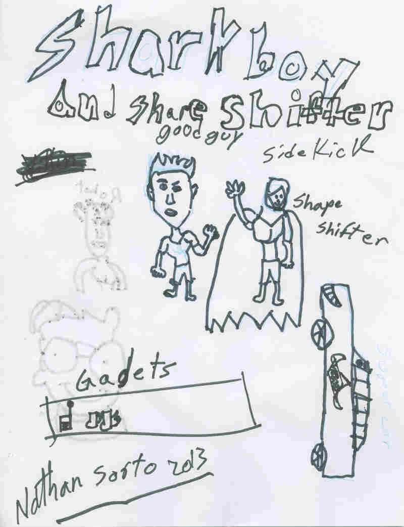 Nathan Ramirez-Sorto, third grade