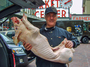 William von Schneidau, who owns the BB Ranch butcher shop at Pike Place Market in Seattle, has made prosciutto from pigs fed marijuana.