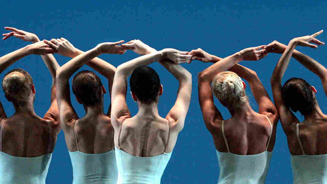 Dancers perform George Balanchine's Serenade in a 2007 production staged by Francia Russell and Suzanne Schorer at the Bolshoi Theatre in Moscow.
