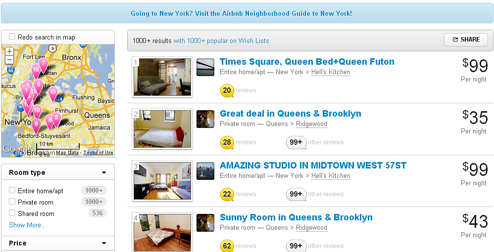Airbnb Stays Are Illegal In New York, Court Rules