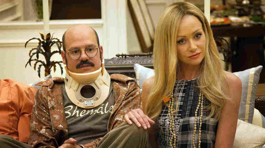 David Cross and Portia de Rossi in a scene from Arrested Development, which returns on Netflix on May 26.
