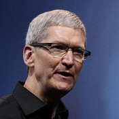 Apple CEO Tim Cook speaks during an introduction of the iPhone 5 in San Francisco on Sept. 12. The Senate Permanent Subcommittee on Investigations says Apple is paying billions of dollars less than it should in taxes each year, taking advantage of technicalities in U.S. and Irish tax laws.