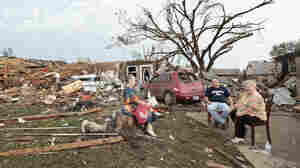 After Tornado, A Dog Rescue Raises Spirits, And Gains Fans