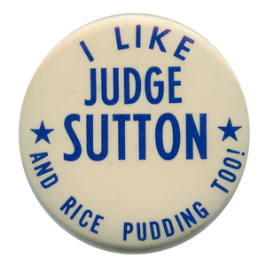 At last, the longstanding Judge Sutton/Rice Pudding mystery is solved.