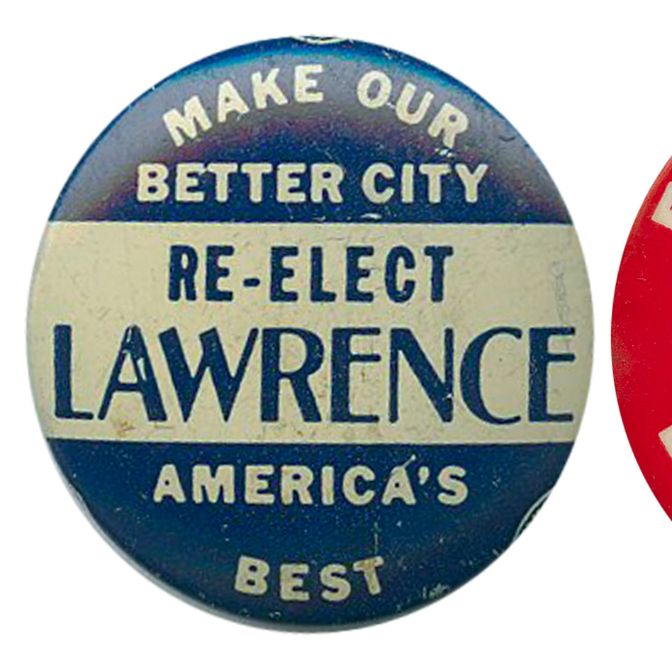From Pittsburgh's past: David Lawrence (1946-58) is considered one of America's greatest mayors of all time.  Pete Flaherty (1970-77) also ran for governor and twice for the Senate. (Ken Rudin collection)