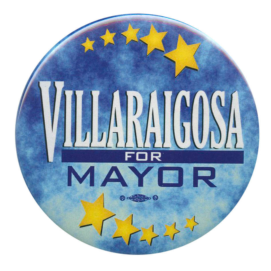 The election to succeed the term-limited Villaraigosa is today. (Ken Rudin collection)