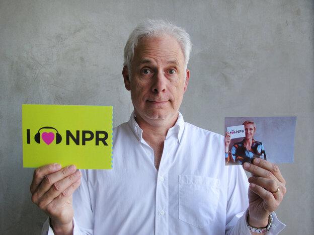Christopher Guest at NPR West.