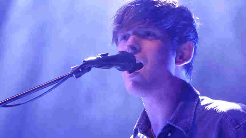 James Blake performs live at the 9:30 Club in Washington, D.C.