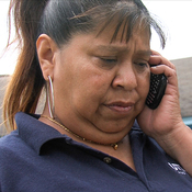 The private information Linda Mendez submitted to get discount cellphone service appeared on a publicly accessible website.