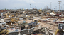 The destruction was side and devastating in Moore, Okla., on Monday after a tornado roared through.
