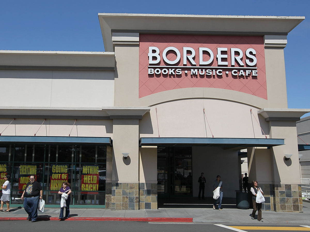 Judge: Unredeemed Borders Gift Cards Are Worthless : The Two-Way : NPR