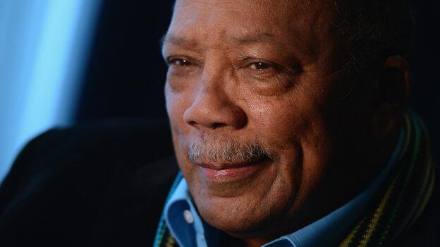 Legendary music producer Quincy Jones.