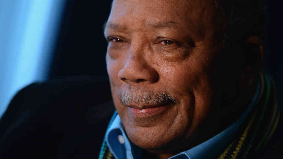 Legendary music producer Quincy Jones.
