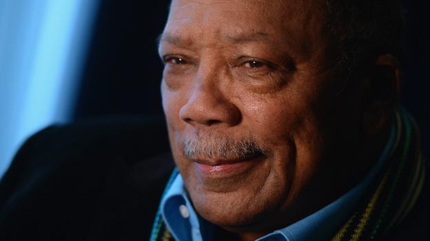 Legendary music producer Quincy Jones. (Getty Images)