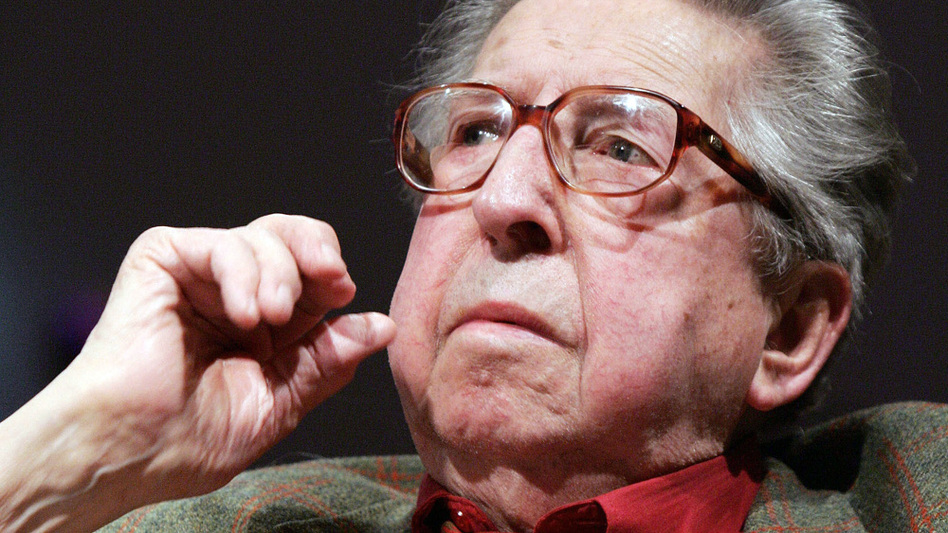 Henri Dutilleux, a leading French composer and unique voice in new music, has died at age 97. (AFP/Getty Images)