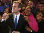 Incoming Los Angeles Mayor  Eric Garcetti as he celebrated with supporters late Tuesday in Hollywood.