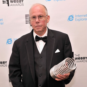 Steve Wilhite, inventor of the GIF file, was given a lifetime achievement award at the 17th annual Webby Awards Tuesday night in New York City. Don't congratulate him the wrong way: To him, GIF sounds like Jif.