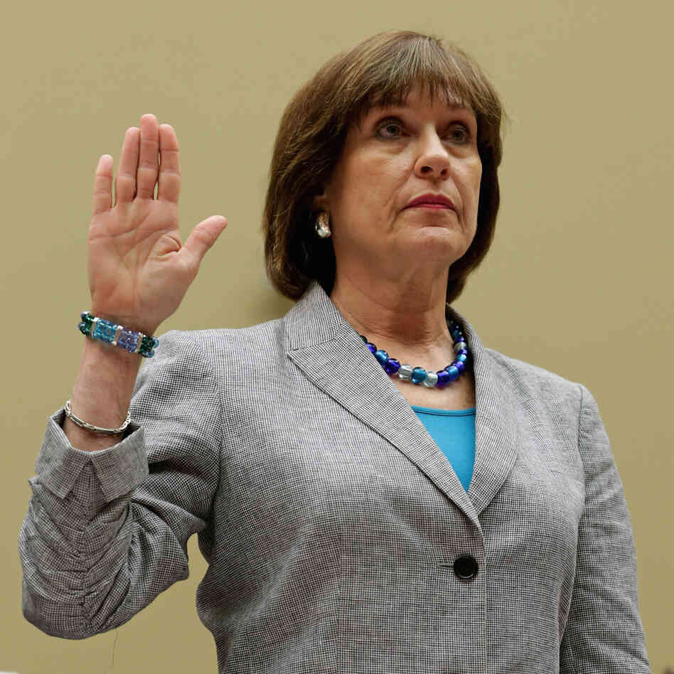 Internal Revenue Service Director of Exempt Organizations Lois Lerner as she was sworn in at