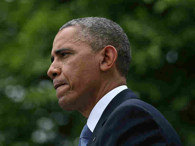 President Obama answered questions on scandals involving the IRS and Justice Department, at a news conference last week at the White House.