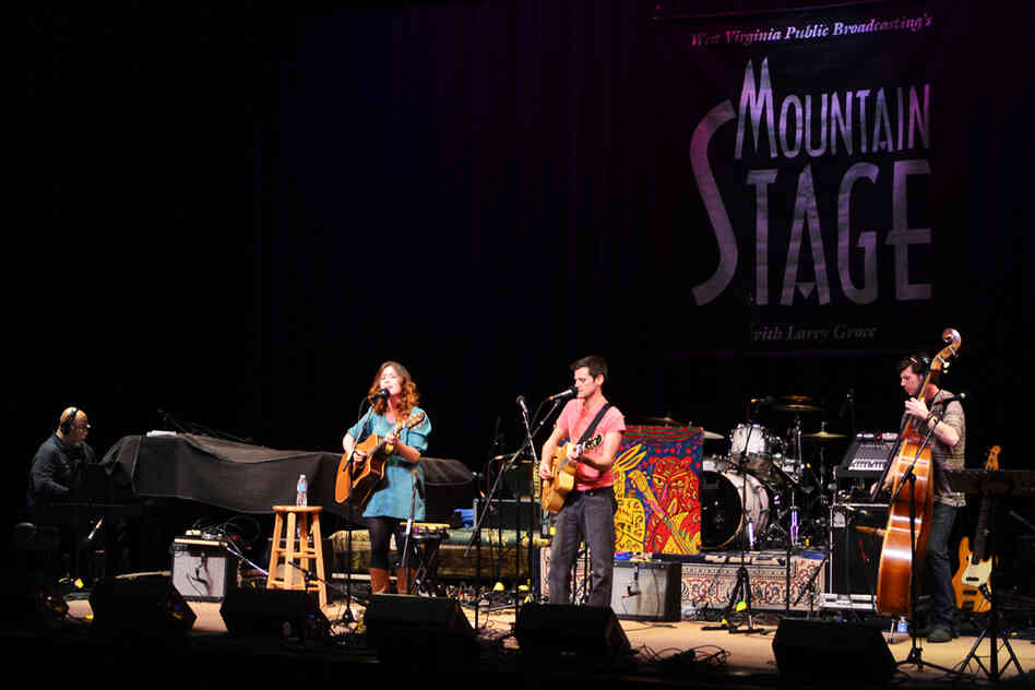 The Sea, The Sea makes its first appearance on Mountain Stage, recorded live in Charleston, W.Va.